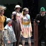 """BærMuDa Minis oppsetning """"Trollmannen fra Oz"""", mars 2010 i Sandvika Teater. Bildene er fra første (Trollhatts) premiere, kl 1300, lørdag 20. mars."""